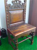 81. Антикварное Кресло. 1656 год. Цена 1500 евро.