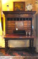 91. Антикварный Секретер. 18 век. 130х50х170 см. Цена 12000 евро