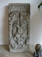 Антикварный Каменный барельеф. 17 век. 70x30x13 см. Цена 2500 евро
