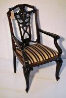 Антикварное Кресло. Палисандр. Конец 18 века. Голландия. Цена 1200 евро