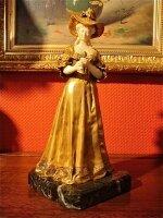 10. Антикварная Бронзовая скульптура. 19 век.