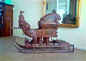 58. Антикварные Сани. 1880 год. Длинна: 140 см. 1500 евро.