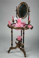 67. Антикварный Туалетный столик. 1860 год. 143x72x54 см. Цена 7500 евро.