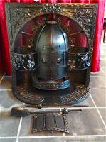 71. Антикварная Печь. Арт-Деко. Около 1900 года. 110x106x65 см. 2000 евро.