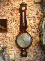 128. Антикварный Барометр. Около 1800 г. 120x36 см. Цена 3000 евро