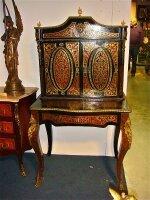 23. Антикварный Кабинет в стиле Буль. 19 век. 145x8x53 см. Цена 2500 евро.