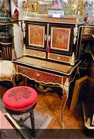 24. Антикварная Канторка в стиле Буль. 19 век. 76x48x128 см. Цена 7000 евро.