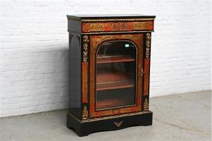 38. Антикварный Комод витрина Буль. Около 1870 года.