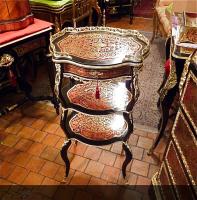 52. Антикварный Столик Буль. 19 век. 44x34x84 см. Цена 5000 евро.
