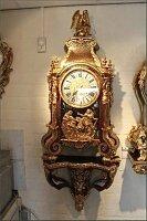 57. Антикварные Часы Буль с консолью. 19 век.