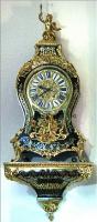 58. Антикварные Часы Буль с консолью. 19 век.