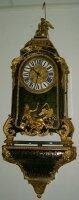 59. Антикварные Часы Буль с консолью. XIX век.
