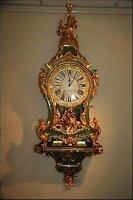 61. Антикварные Часы Буль консольные. 18 век.