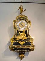 63. Антикварные Часы Буль консольные. 18 век.