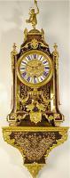 65. Антикварные Часы Буль с консолью. XVIII век.