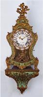 66. Антикварные Часы Буль с консолью. 18 век.