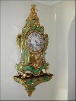 67. Антикварные Часы Буль консольные. 18 век.