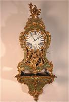68. Антикварные Часы Буль с консолью. XVIII век.