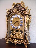 71. Антикварные Часы Буль. XIX век.