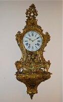74. Антикварные Часы с консолью. 18 век.