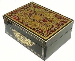 83. Антикварная Шкатулка Буль. 19 век.