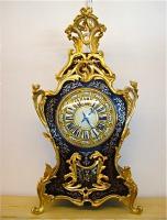 91. Антикварные Часы в стиле Буль. Около 1860 года. 72х37х18 см. Цена 3500 евро