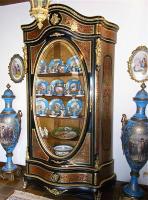 95. Шкаф в стиле Буль. 19 век. 225x120x42 см