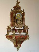 Антикварные Часы с консолью в стиле Буль. Около 1880 г. 160 см