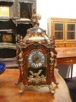 Антикварные Часы в стиле Буль. Около 1900 г. 66x36x15 см. Цена 3500 евро