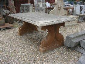 41. Антикварный садовый Стол из мрамора. Около 1900 года