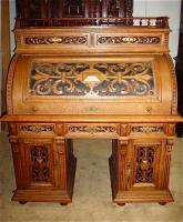 1. Антикварное Бюро. 19 век. 151х135х76 см. Цена 3500 евро