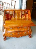 121. Антикварный Секретер, класический голландский стиль. 19 век.