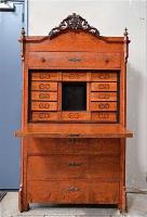 125. Антикварный Секретер. 19 век. 185х100х50 см. Цена 2300 евро
