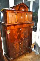 143. Антикварный Секретер, ампир. Около 1820 г. Цена 3500 евро