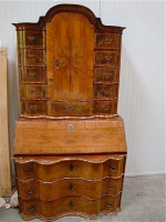 47. Антикварный Кабинет. Около 1870 г. 220х120х55 см. Цена 9500 евро