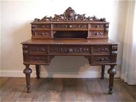 56. Антикварный Письменное бюро. Около 1840 г. 130х60х126 см. Цена 2700 евро