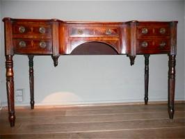 66. Антикварный Письменный стол. 19 век. Цена 2700 евро