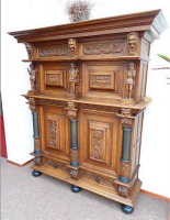 Старинный Кабинет. Около 1800 года. 203x55x180 см. Цена 6000 евро