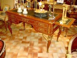 Антикварное Письменное бюро с креслом. 19 век. 129x65x77 см. Цена 13000 евро