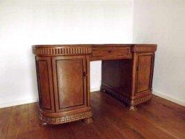 Антикварный Письменный стол. Массив дуба. 19 век. 156x80x78 см.