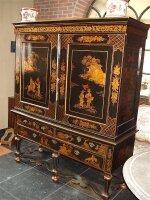 8. Антикарный Китайский шкаф. 19 век.