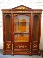 12. Антикарный Книжный шкаф. Ампир. 1890 год. 246x48x193 см. Цена 6000 евро.