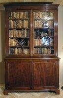 14. Антикарный Книжный шкаф. 1870 год. 242x148x50 см. Цена 7000 евро.