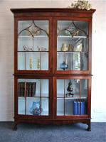 55. Антикварный Книжный шкаф. 1830 г. 206x121x41