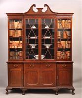 60. Антикварный Книжный шкаф. 1910 г. Цена 7900 евро