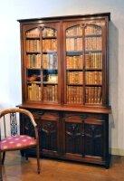 81. Книжный шкаф. Красное дерево. Оригинальные замки дверей. 1890-1910 гг. Цена 4450 евро