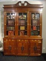 Книжный шкаф. Около 1900 г. 206x53x290 см. Цена 10000 евро