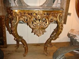 14. Антикварная Консоль. 19 век. 97x46x75 см. Цена 2500 евро.
