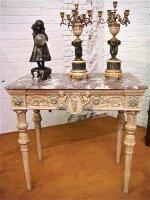 35. Антикварный Резной столик. 19 век. 103x98x62 см. Цена 2900 евро.
