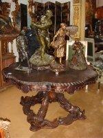 46. Антикварный Стол. 19 век. 140x77 см. Цена 4800 евро.